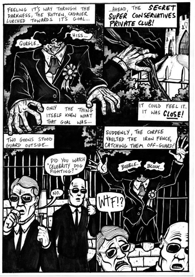 The Head of Maggie Must Die by The Brown Lazer - SHSO Leeds