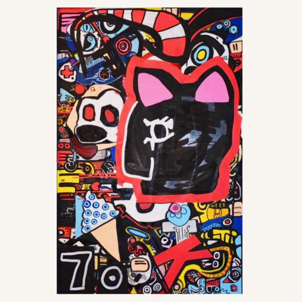 Expressionist Untitled by Matt Robinson, Fine artist - SHSO Leeds