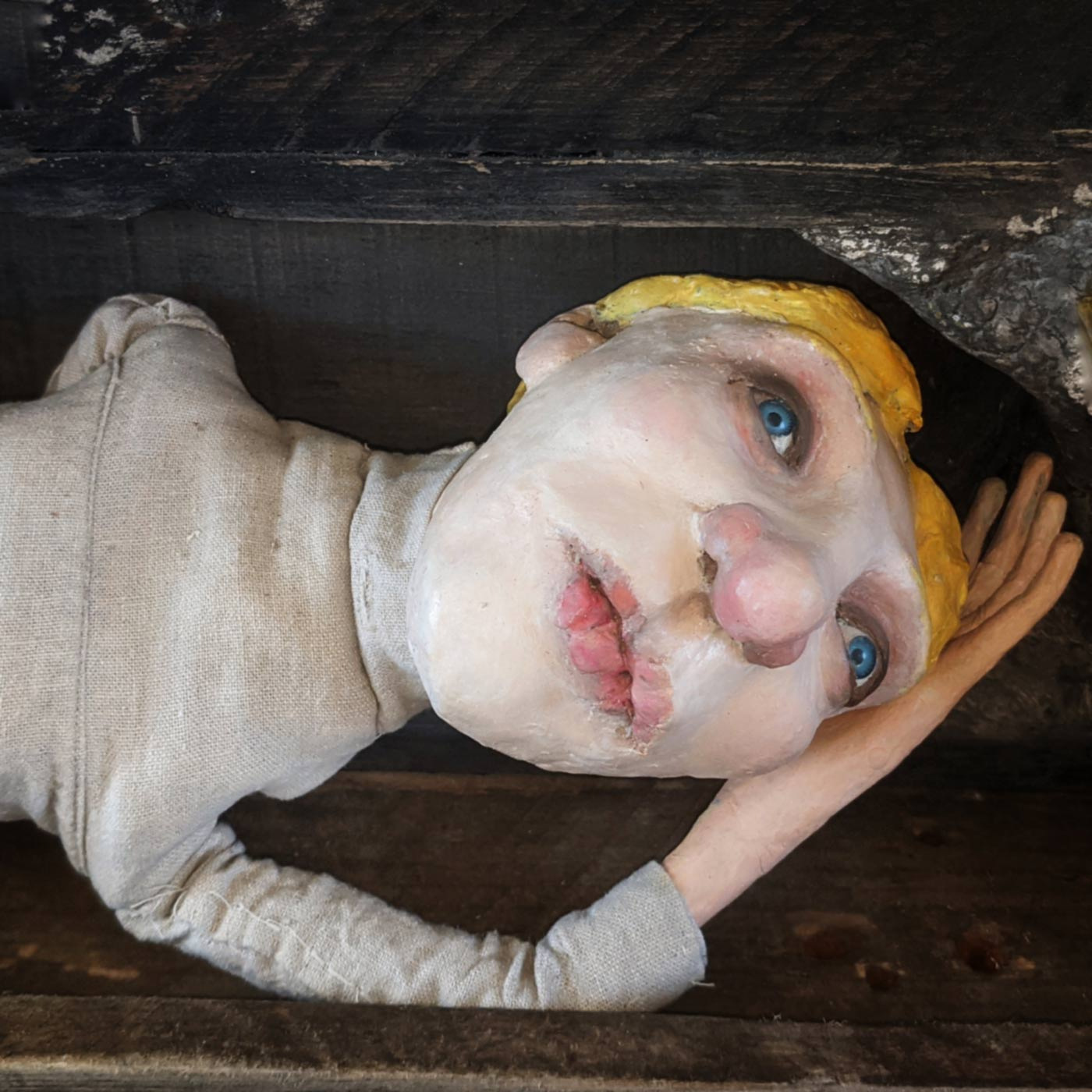 Lorna Graves by Dawn Hurton, puppet artist