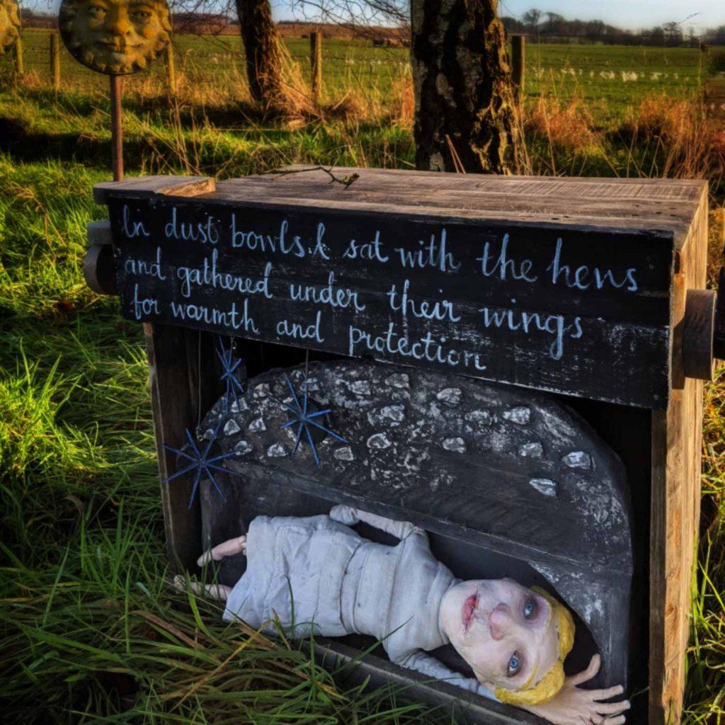 Lorna Graves by Dawn Hurton, puppet artist - SHSO