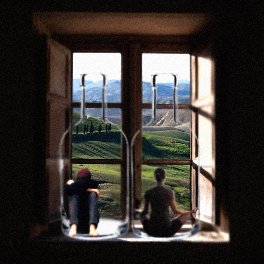 Lockdown 2020 Roya Brehl - SHSO - Photomontage - Something Happened Once