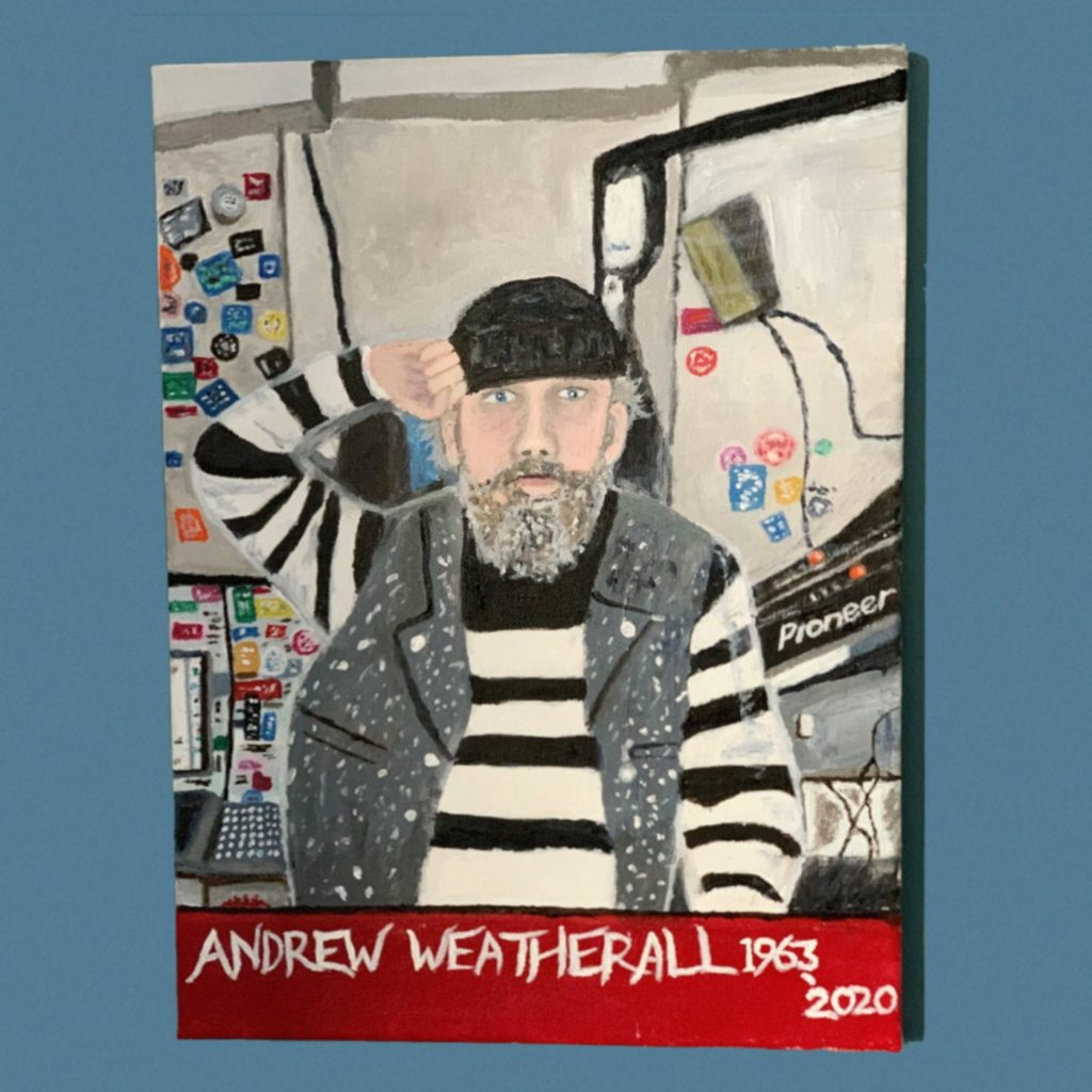 Andrew Weatherall by Rory Flynn - SHSO Leeds - Something Happened Somewhere Once