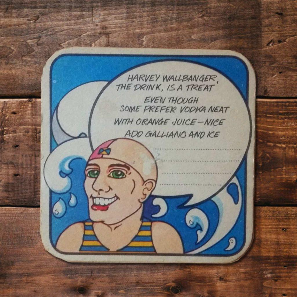 Vintage Beermats - Something Happened Somewhere Once