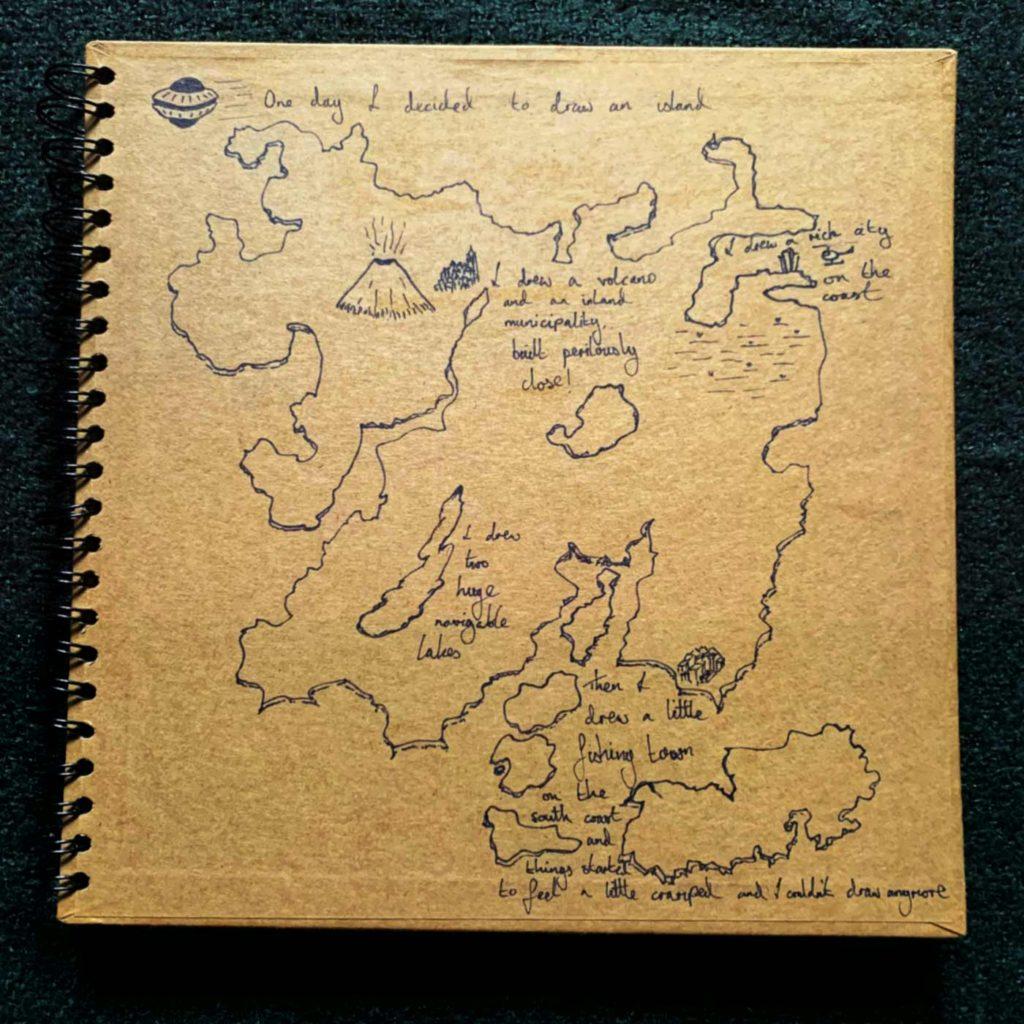 Draw Your Own Island - Josefus Haze - Something Happened Somewhere Once - SHSO