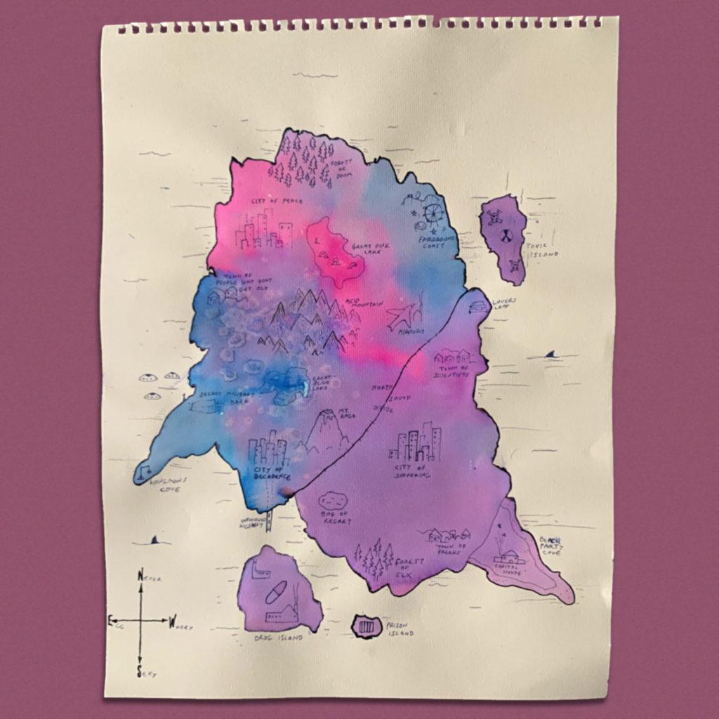 Draw your own island - Mr Mascall - SHSO