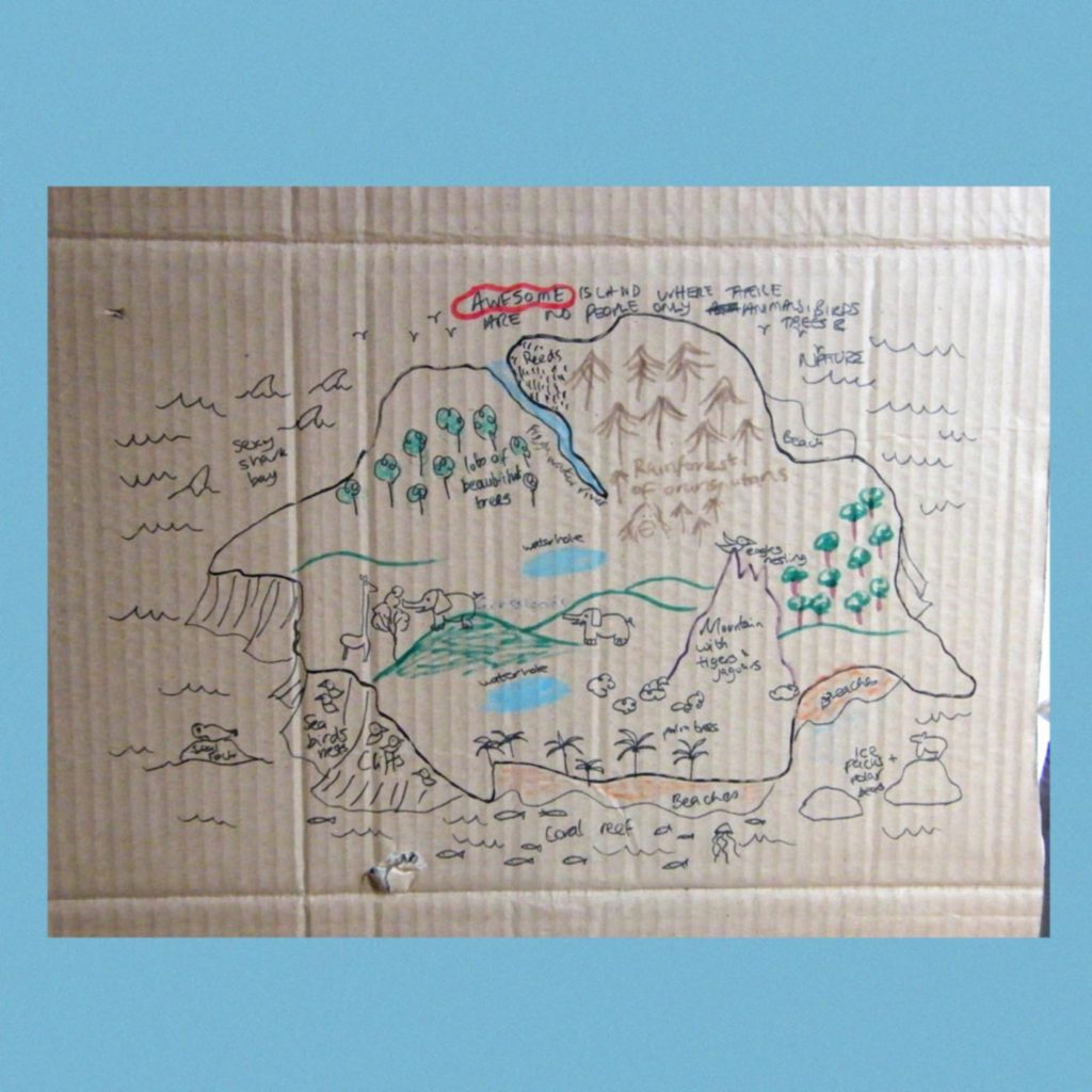 Draw Your Own Island - ScapaJoe - Something Happened Somewhere Once - SHSO